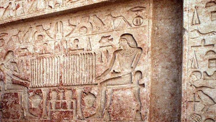 Fotos: Hallan en Egipto una tumba con pinturas de 3.000 años de antigüedad