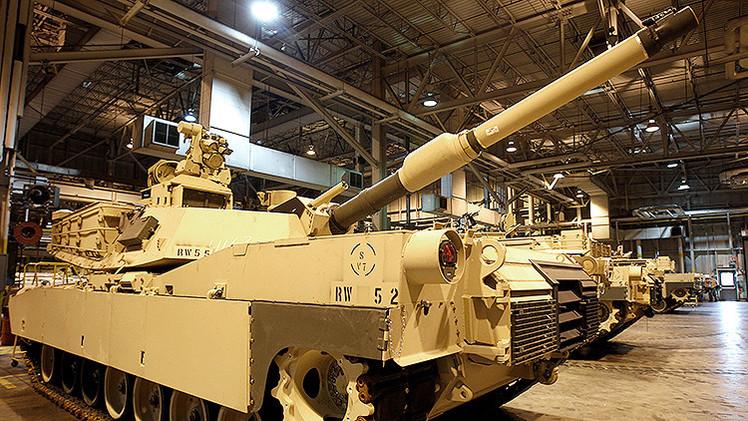 EE.UU. traslada 800 unidades de equipo militar a Alemania