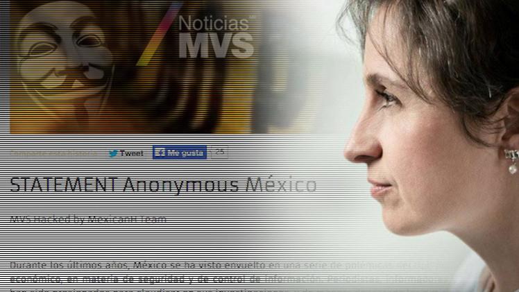 Anonymous ataca al medio que despidió a periodistas que investigaron a Peña Nieto