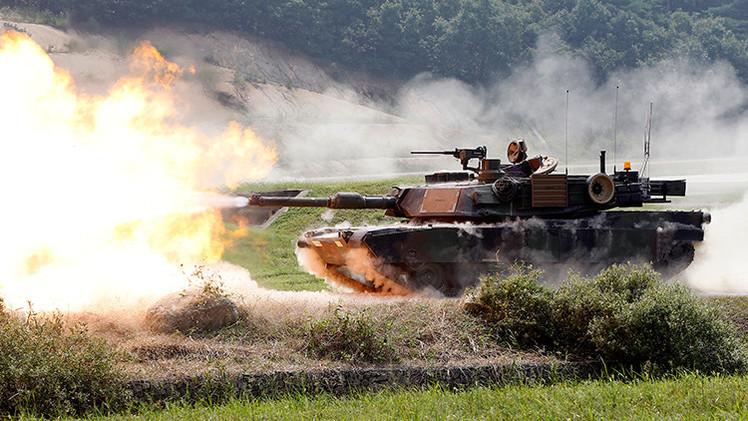 """Soldados y tanques de EE.UU. llegan a Lituania para """"fortalecer la seguridad"""""""