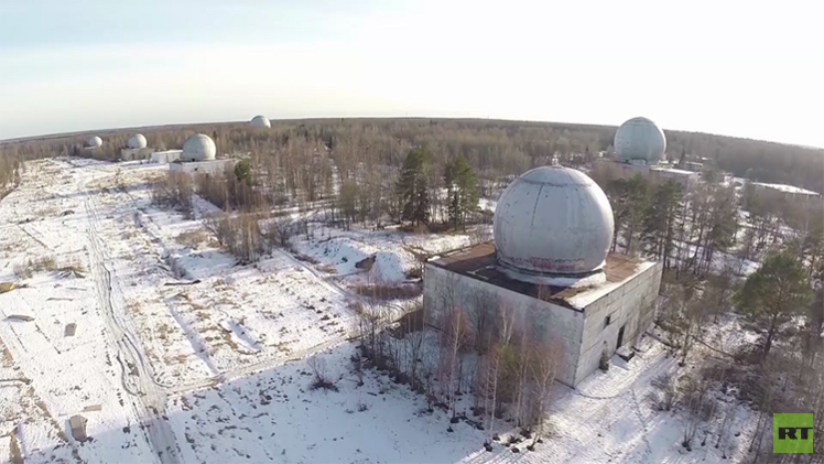 Video: Un dron sobrevuela secretas instalaciones rusas de defensa antimisiles
