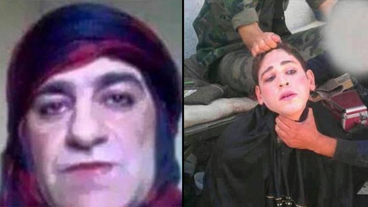 Miembros del Estado Islámico se visten de mujer para escapar del campo de batalla