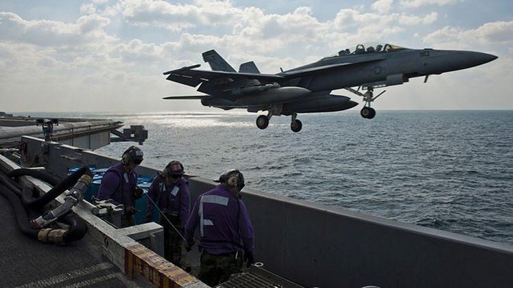 EE.UU. realiza ejercicios militares a gran escala en el Golfo Pérsico