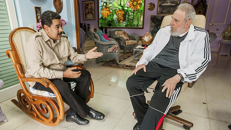 """Fidel Castro: """"Venezuela nunca aceptará imposiciones de EE.UU."""""""