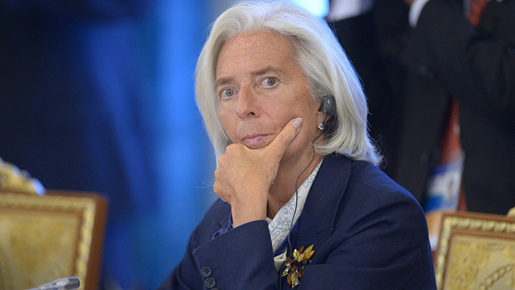 "Podemos a la directora del FMI: ""Da ejemplo y muérete tú"" (Video)"