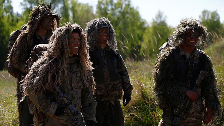 150 soldados de EE.UU. inician en la UE una marcha para infundir miedo a Rusia