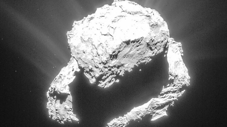 Rosetta: Resuelven el misterio del viento sobre el cometa Churiúmov-Guerasimenko