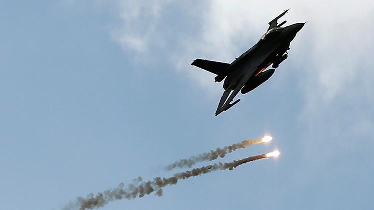 Cazas F-16 de EE.UU. destruirán blancos en suelo estonio junto a la frontera rusa