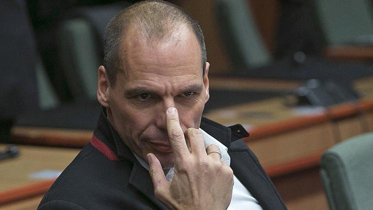 Admiten haber manipulado el video en el que Varoufakis dedica un gesto indecente a Alemania