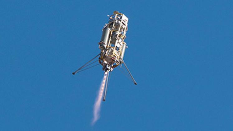 VIDEO: La NASA realiza ensayos de un nuevo sistema de aterrizaje en Marte
