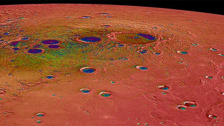 La NASA publica las fotos más detalladas de los depósitos de hielo en Mercurio