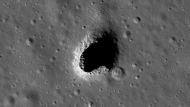Estudio: Túneles de lava en la Luna serían fundamentales para la exploración espacial