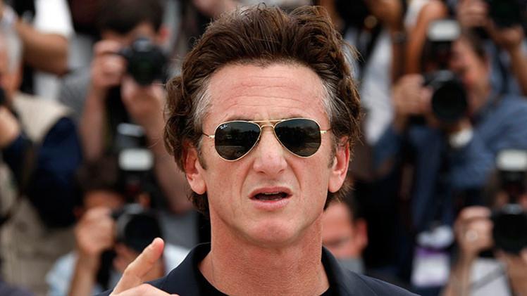 """El actor estadounidense Sean Penn critica el """"arcaico"""" bloqueo de EE.UU. contra Cuba"""