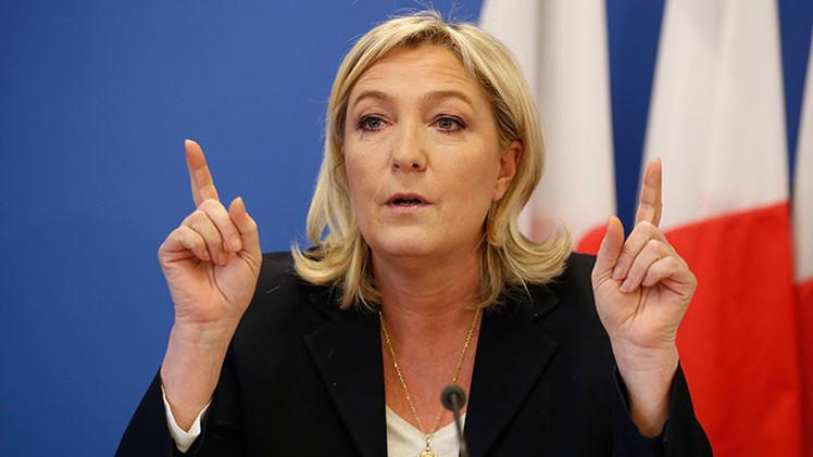 """Marine Le Pen: """"La UE enfrenta grandes dificultades económicas por sancionar a Rusia"""""""