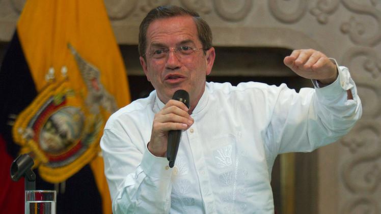 """Ricardo Patiño: """"Si algún país es una amenaza en América Latina es EE.UU."""""""