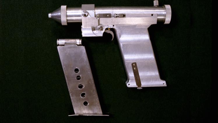 Video:  Imágenes exclusivas de la pistola láser altamente secreta de Rusia