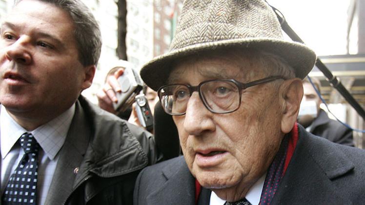 """Henry Kissinger: """"EE.UU. no puede incidir en el acercamiento entre Rusia y China"""""""
