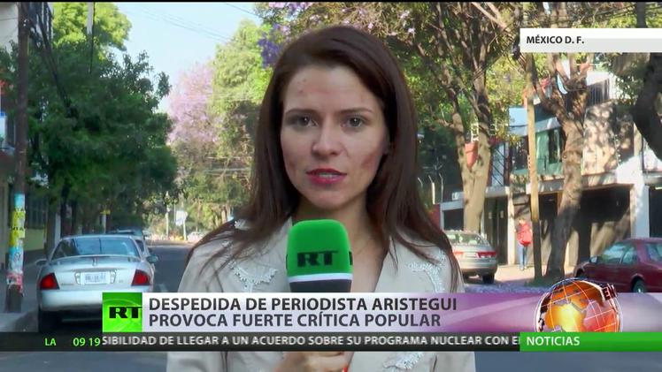 Despedida de la periodista Carmen Aristegui en México provoca fuerte crítica popular