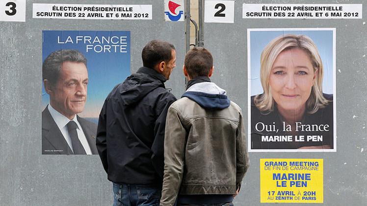 Departamentales en Francia: el Frente Nacional a la estela del partido de Sarkozy