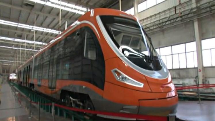 China desarrolla el primer tranvía impulsado por hidrógeno