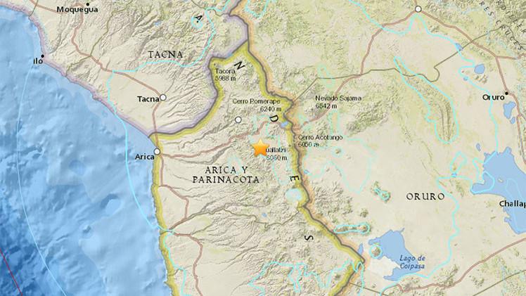 Un terremoto de magnitud 6,1 se produce en el norte de Chile