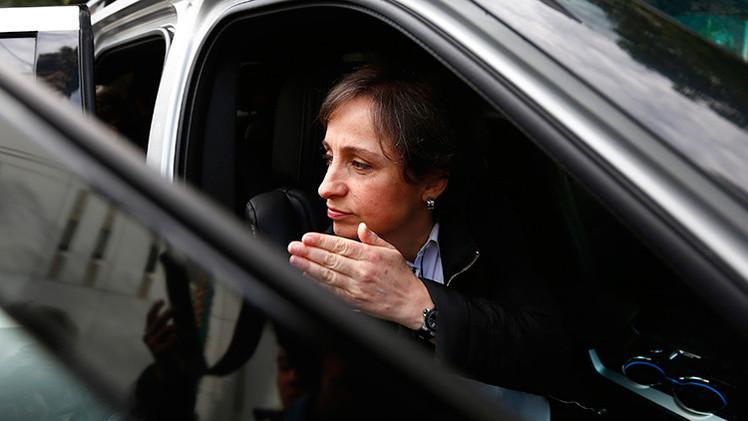 """Aristegui: """"MVS prohibió mi informe de la mansión de Peña Nieto pero no acepté la censura"""""""