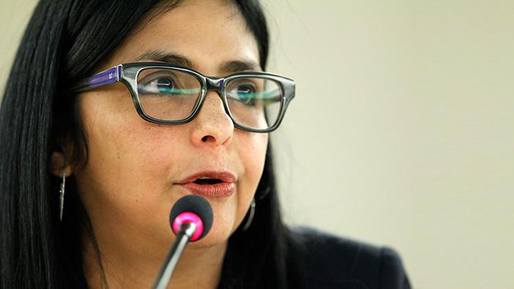 "Canciller venezolana insta a EE.UU. a ""quitarse la careta"""