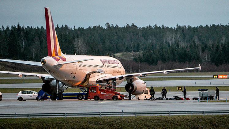 El avión estrellado en Francia salió con 30 minutos de retraso