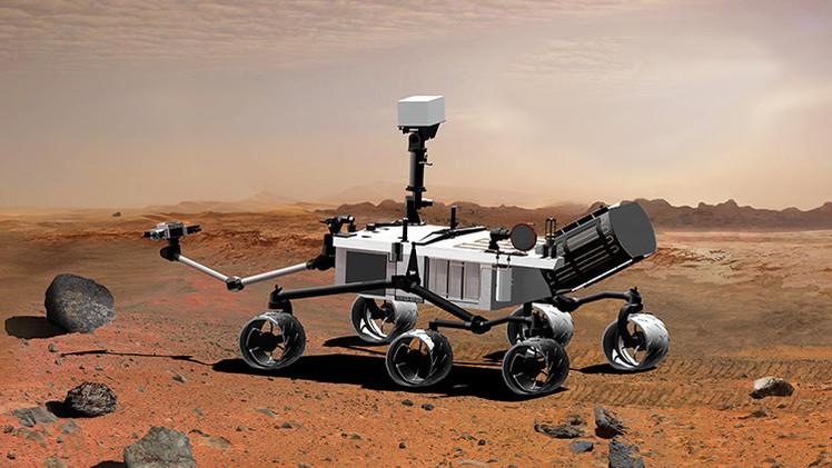 El Curiosity halla una prueba más de que pudo haber vida en Marte