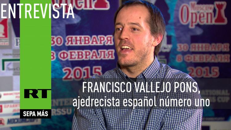 Entrevista con Francisco Vallejo Pons, ajedrecista español número uno