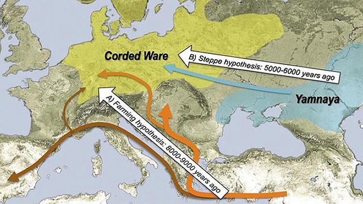 Un estudio de ADN revela el origen del europeo moderno