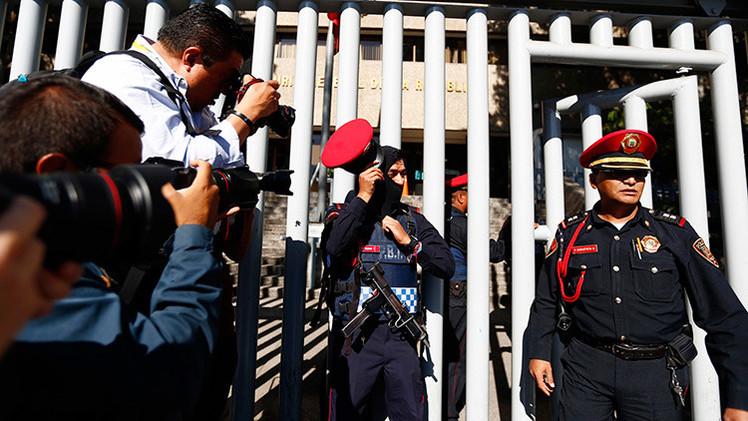 En México cada 26 horas se produce una agresión contra un periodista