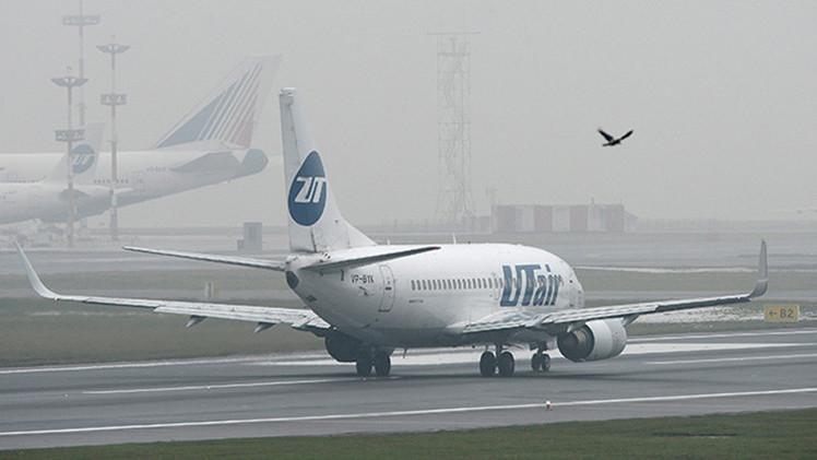 Un avión que cubre la ruta Moscú-San Petersburgo declara una emergencia