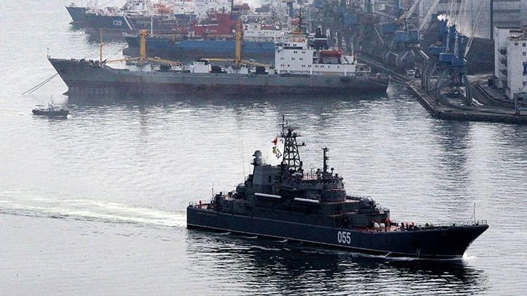 Arrancan en Rusia las maniobras de la Flota del Pacífico y de paracaidistas