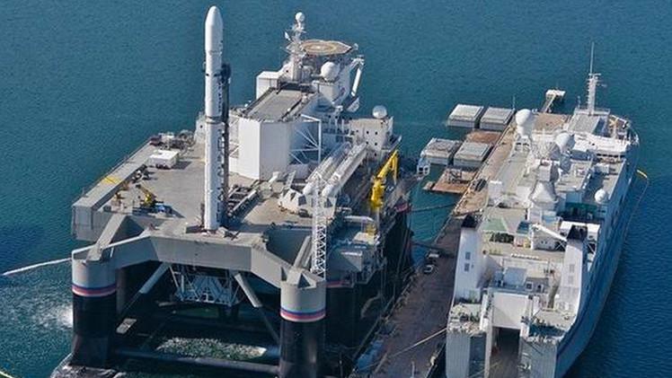 Los EAU piensan adquirir Sea Launch, la base espacial rusa en el océano Pacífico