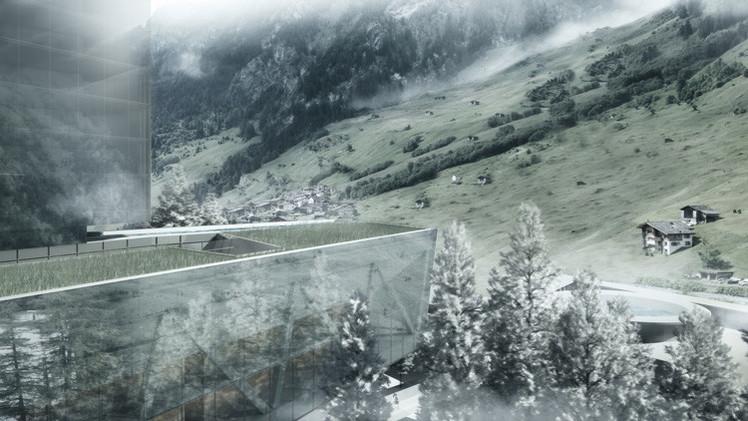 FOTOS: Un rascacielos 'transparente' se incorporará al paisaje de Suiza