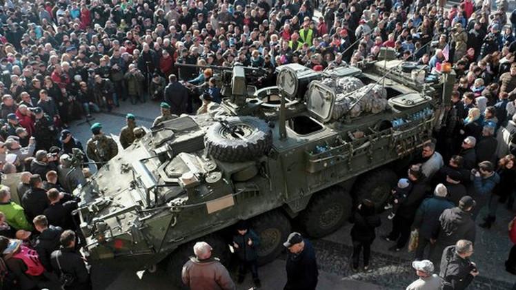 """Medio alemán: La OTAN """"se pasea"""" desafiante cerca de las fronteras de Rusia"""