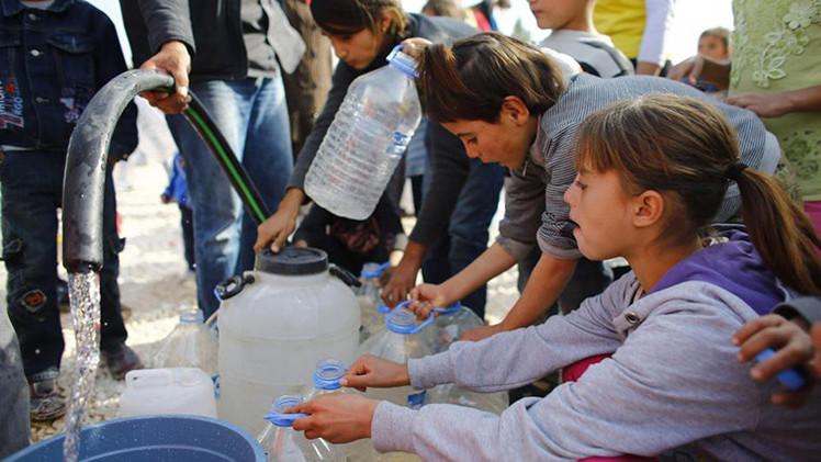 Cruz Roja: El agua se utiliza como un arma en Oriente Medio