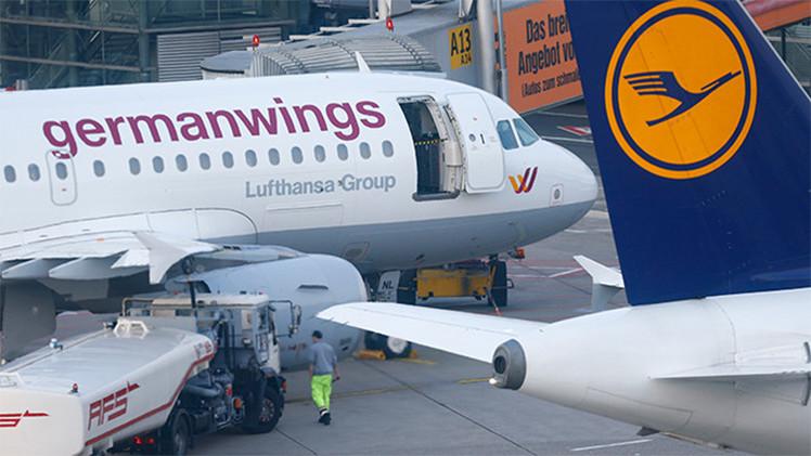 Fiscalía alemana: En la cabina del Airbus A320 había sólo un piloto antes del accidente