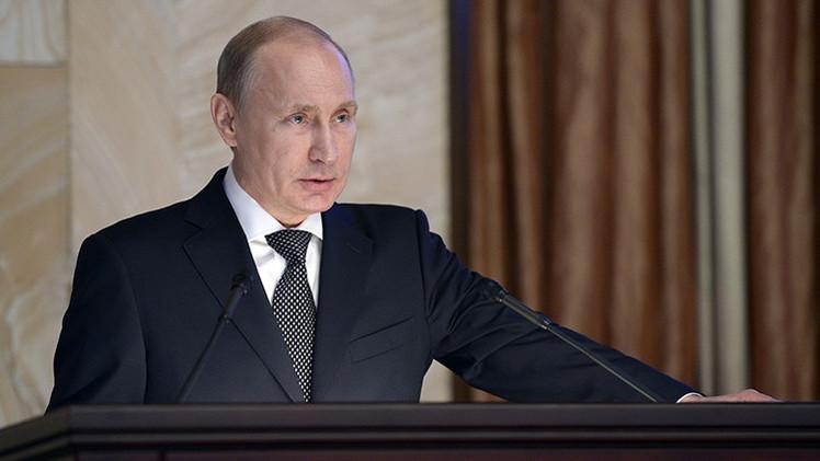 """Putin: """"Nadie ha podido ni podrá intimidar o ejercer presión sobre nuestro país"""""""