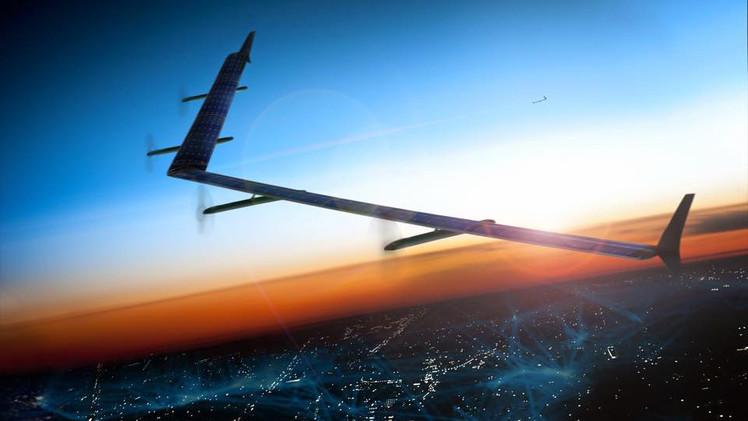 Facebook prueba con éxito los drones que llevarán Internet a los pobres