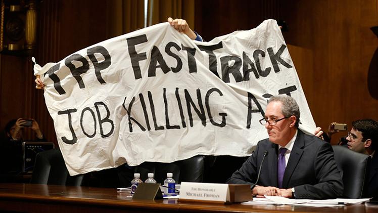 ¿Cómo permitirá el TPP a las multinacionales gigantes aprovecharse de EE.UU.?