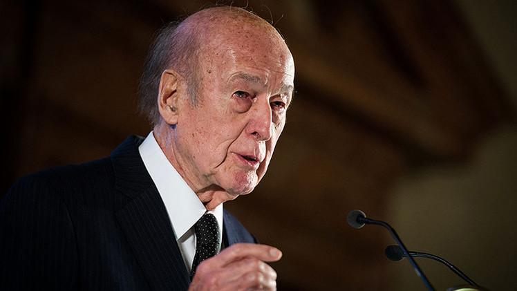 """Expresidente de Francia Giscard d'Estaing: """"Ucrania necesita otro sistema de organización política"""""""