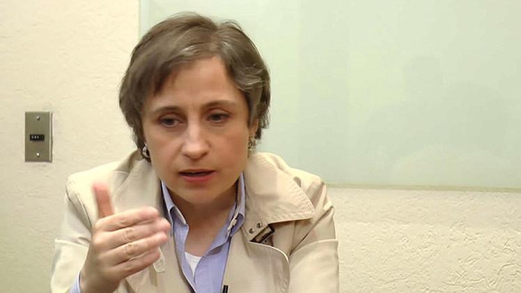 Correo electrónico desvela la campaña de MVS dirigida a controlar a Carmen Aristegui