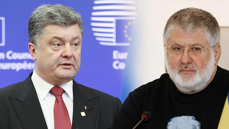 Poroshenko y Kolomoiski