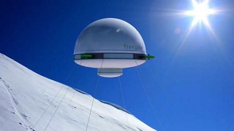 La casa voladora, ¿el futuro hogar de los más ricos?