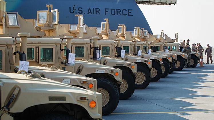 Ucrania instala armas de precisión en los vehículos blindados entregados por EE.UU.