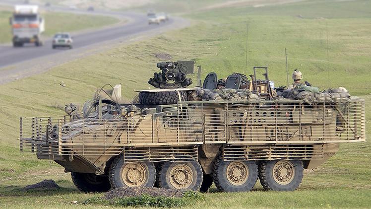 Convoy militar de EE.UU. pierde un vehículo blindado en República Checa [VIDEO]