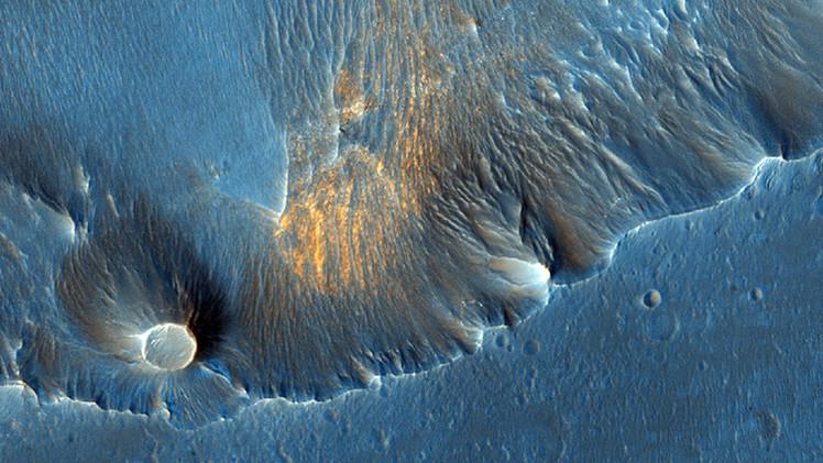 Asombrosas fotos de la superficie de Marte tomadas desde la órbita del planeta