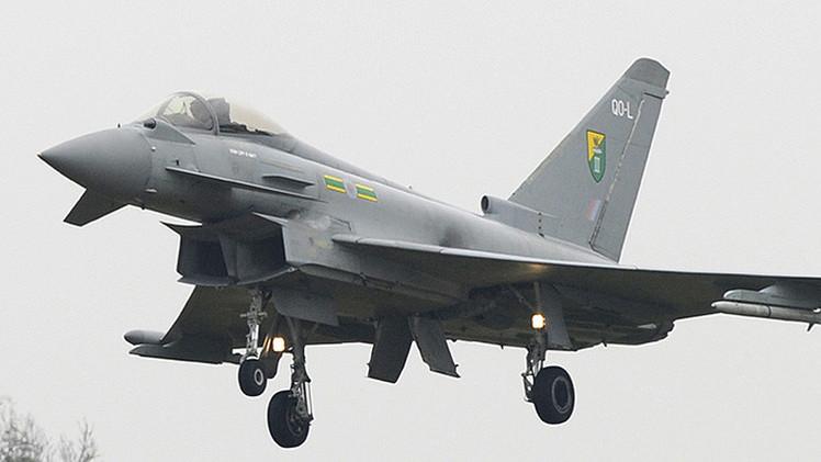 """Reino Unido realiza los mayores ejercicios aéreos en 30 años """"para amenazar a Putin"""""""